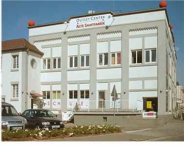 Factory Outlet Center Metzingen alte Samtfabrik